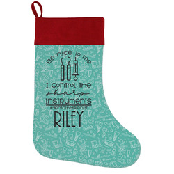 Dental Hygienist Holiday Stocking w/ Name or Text
