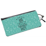 Dental Hygienist Genuine Leather Eyeglass Case (Personalized)
