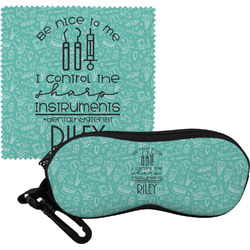 Dental Hygienist Eyeglass Case & Cloth (Personalized)