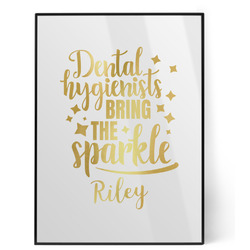 Dental Hygienist Foil Print (Personalized)