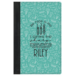 Dental Hygienist Genuine Leather Passport Cover (Personalized)