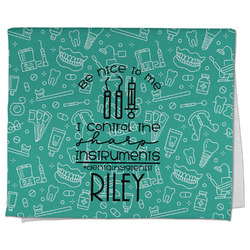 Dental Hygienist Kitchen Towel - Full Print (Personalized)
