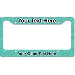 Dental Hygienist License Plate Frame (Personalized)