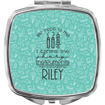 Dental Hygienist Compact Makeup Mirror (Personalized)