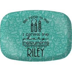 Dental Hygienist Melamine Platter (Personalized)