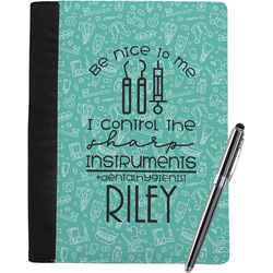 Dental Hygienist Notebook Padfolio - Large w/ Name or Text