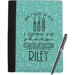 Dental Hygienist Notebook Padfolio (Personalized)