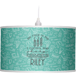 Dental Hygienist Drum Pendant Lamp (Personalized)