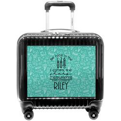 Dental Hygienist Pilot / Flight Suitcase (Personalized)