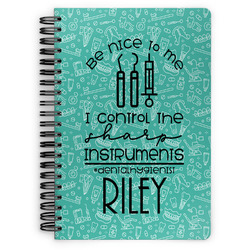 Dental Hygienist Spiral Notebook (Personalized)