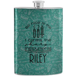 Dental Hygienist Stainless Steel Flask (Personalized)