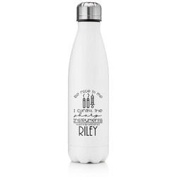 Dental Hygienist Tapered Water Bottle - 17 oz. - Stainless Steel (Personalized)