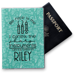Dental Hygienist Vinyl Passport Holder (Personalized)