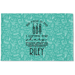 Dental Hygienist Woven Mat (Personalized)