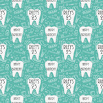 Dental Hygienist Wrapping Paper (Personalized)