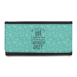 Dental Hygienist Leatherette Ladies Wallet (Personalized)