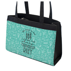 Dental Hygienist Zippered Everyday Tote w/ Name or Text