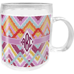 Ikat Chevron Acrylic Kids Mug (Personalized)
