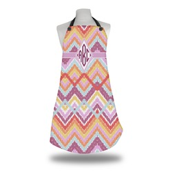 Ikat Chevron Apron (Personalized)