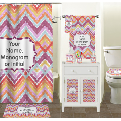 Ikat Chevron Cabinet Decal Large Personalized RNK Shops