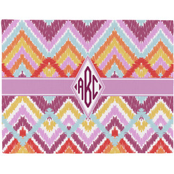 Ikat Chevron Placemat (Fabric) (Personalized)