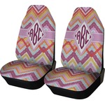 Ikat Chevron Car Seat Covers (Set of Two) (Personalized)
