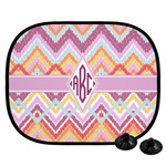 Ikat Chevron Car Side Window Sun Shade (Personalized)