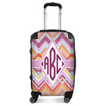Ikat Chevron Suitcase (Personalized)
