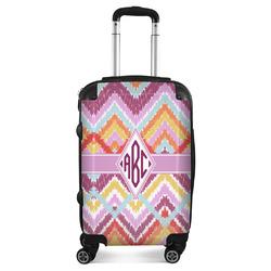 Ikat Chevron Suitcase (Personalized)