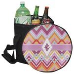 Ikat Chevron Collapsible Cooler & Seat (Personalized)