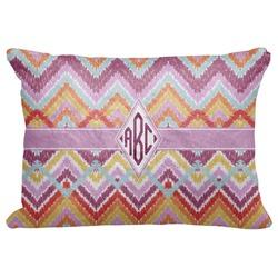 "Ikat Chevron Decorative Baby Pillowcase - 16""x12"" (Personalized)"
