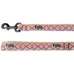 Ikat Chevron Deluxe Dog Leash (Personalized)