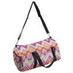Ikat Chevron Duffel Bag (Personalized)