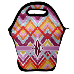 Ikat Chevron Lunch Bag (Personalized)