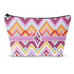 Ikat Chevron Makeup Bags (Personalized)