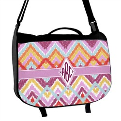 Ikat Chevron Messenger Bag (Personalized)