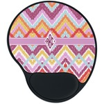 Ikat Chevron Mouse Pad with Wrist Support