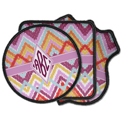 Ikat Chevron Iron on Patches (Personalized)