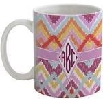 Ikat Chevron Coffee Mug (Personalized)