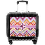 Ikat Chevron Pilot / Flight Suitcase (Personalized)