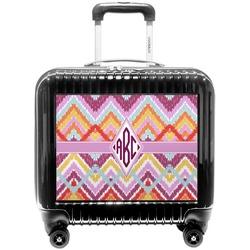 Ikat Chevron Pilot / Flight Suitcase (Personalized)