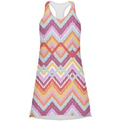 Ikat Chevron Racerback Dress (Personalized)