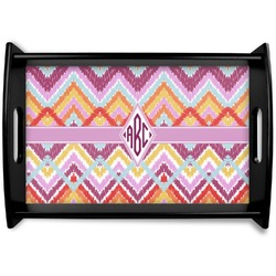 Ikat Chevron Wooden Trays (Personalized)