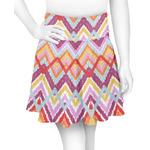 Ikat Chevron Skater Skirt (Personalized)