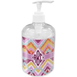 Ikat Chevron Acrylic Soap & Lotion Bottle (Personalized)