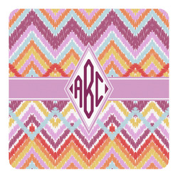 Ikat Chevron Square Decal (Personalized)