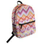 Ikat Chevron Student Backpack (Personalized)