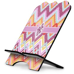 Ikat Chevron Stylized Tablet Stand (Personalized)