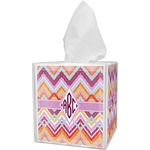 Ikat Chevron Tissue Box Cover (Personalized)