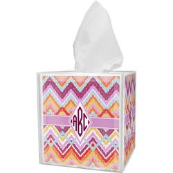 Ikat Chevron Tissue Box Cover (Personalized)